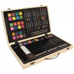 Wooden Arts & Craft Supplies Set for $9.59 (78% off)