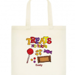Personalized Halloween Treat Bag for $2!