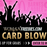 Woman Freebies Gift Card Blowout:  50 prizes up for grabs!
