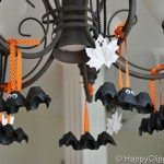 Halloween Craft: Egg Carton Bats and Leaf Ghosts