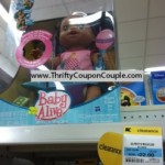 Baby Alive Dolls as low as $5 each at K-Mart stores!