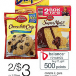 Bisquick and Betty Crocker Cookie Mixes $1 after coupon!