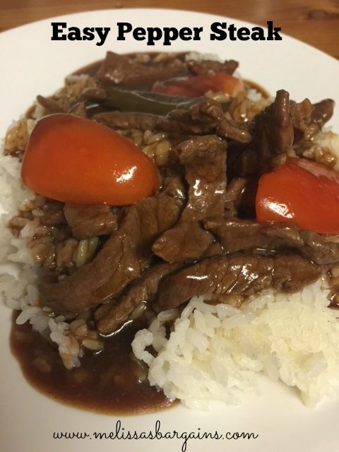 Bi Lo Stores >> Easy Pepper Steak Recipe