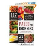 FREE Kindle Cookbooks:  Paleo for Beginners and Healthy Dinner Recipes!