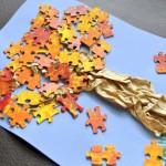 Fall Craft: Puzzle Tree