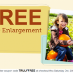 Walgreens FREE 8X10 photo prints!