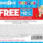 Toys 'R Us Doorbusters starting 11/10!