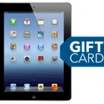 Best Buy:  iPad 3 for $75 off PLUS $75 gift card and free shipping!