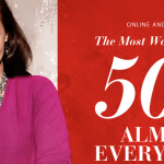 Lane Bryant:  50% off almost everything sale!