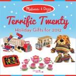 GIVEAWAY:  Melissa & Doug Terrific Twenty Holiday Gifts!
