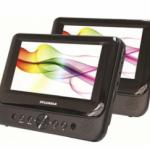 Sylvania 7″ Dual Screen Portable DVD Player for $49 shipped!
