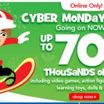 Toys 'R Us Cyber Monday Deals Live Online Now!