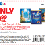 Toy's R Us Daily Deals: $9.99 Disney movies plus Cyber Monday extended!