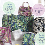Vera Bradley Cyber Monday Sale Extended: prices start at $19.99!