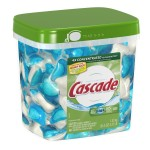 Cascade ActionPacs Dishwasher Detergent Fresh Scent (85 ct) for $14.19 shipped! ($.16 each)