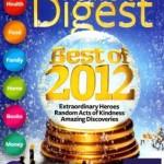 Reader's Digest magazine just $3.99/year!