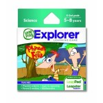 LeapFrog LeapPad Phineas & Ferb game for $9.99! (regularly $24.99)