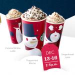 Starbucks BOGO Free Sale (through 12/16)