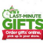 Walmart Last Minute Gift Ideas:  Order Online, Pick up In Store!