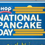 National Pancake Day = FREE Pancakes at IHOP!