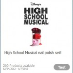 Earn Cash for testing High School Musical Nail Polish and other products!