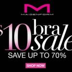 Maidenform Bra Sale:  Bras for just $9 each!