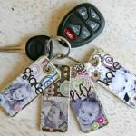 Keepsake Keychain Craft