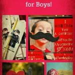 10 Valentine Ideas for Boys!