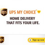 UPS MyChoice:  Never miss a package again!