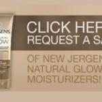 FREE Jergen's Natural Glow Moisturizer!