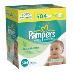 Pampers Natural Clean Wipes (7 tubs) for $8.78 shipped!