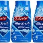 Colgate MaxFresh toothpaste FREE at Dollar Tree!