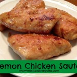 Lemon Chicken Saute Recipe