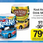 Kool-Aid Canisters just $.04 each at Kroger!