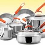 Win a 10 piece Rachael Ray Stainless Steel Cookware Set!