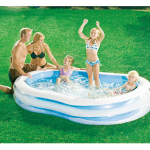 Inflatable Family Pool only $10!