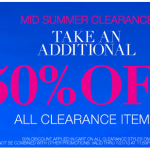 Maidenform 50% off clearance sale!