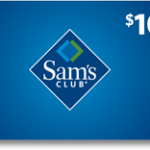FREE $10 Sam's Club gift card for you and a friend!