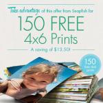 Snapfish 150 FREE 4×6 photo prints!