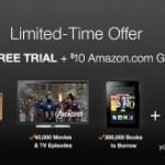 Amazon Prime FREE Trial plus $10 Amazon gift card!