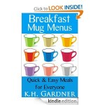 Breakfast Mug Menus FREE for Kindle!