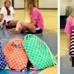 Monogrammed Drawstring Gym Bags only $12.99!