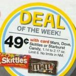 Cheap Candy Bars at Walgreens this week!