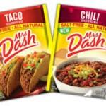 FREE Mrs. Dash Taco or Chili Seasoning!