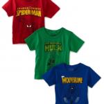 Boys Super Hero Tees just $1.86 each!