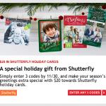 FREE Shutterfly Photo Cards from My Coke Rewards!