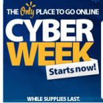 Walmart Cyber Week sales now online!