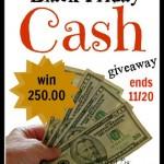 Black Friday $250 CASH GIVEAWAY!