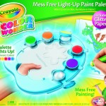 Crayola Color Wonder Light-Up Paint Palette with Glitter Paper for $9.99