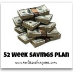52 Week Savings Plan!